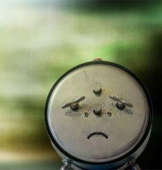 sad clock