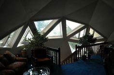 Inside Geodome 3.