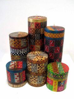 www.cewax.fr aime cette décoration afro tendance, style ethnique, tissus…