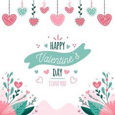 Fondo de san valentín dibujado a mano ve... | Free Vector #Freepik #freevector #fondo #corazon #amor #mano Valentines Day Background, Happy Valentines Day, Valentine Drawing, Coloring Pages, How To Draw Hands, Birthdays, Lettering, Prints, Party