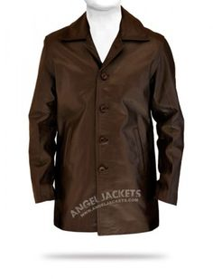 524add2a7e4 Get the all time famous American TV serial Supernatural Dean Winchester  brown leather coat and show your style statement with it. AngelJackets