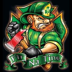 FIR NA TINE-Irish T-Shirt