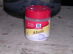 Why adding Alum to your stockpile is important. I've used powdered alum for years as a blood stop. It's in my emergency kit as well as my home medicine cabinet.   --->I'm pinning because this will always make me think of @kathrynlhartman @panda8 @swan114