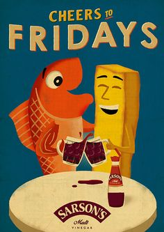 Cheers To Fridays - Paul Thurlby for McGarryBowen