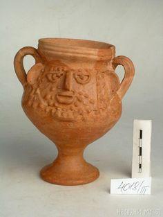 Rare Roman prosopomorphic ceramic vessel with human face 2nd-3rd century AD [723x960]
