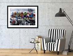 This limited edition Giclée Art Print, designed by Dan Avenell, comes with a numbered and signed certificate of authenticity. Printed on 100% cotton, acid-free, heavyweight paper using HDR UltraChrome Archival Ink, this artwork reflects our commitment to the highest color, paper, and printing sta...
