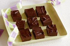 Jell-O fudge!  SO much easier than regular fudge!  Imagine the possibilities!!!