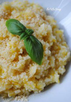 Esencjonalny ryż dyniowy z nutą imbiru, kardamonu i gałki muszkatołowej