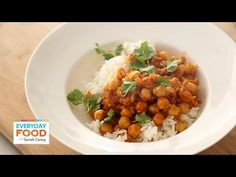 Curried Chickpeas for Dinner