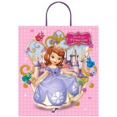 Disney Sofia The First Plastic Handle Treat Bag *** Details can be found by clicking on the image.