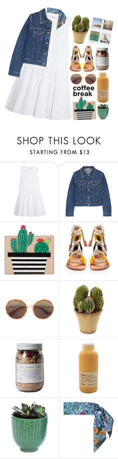 """""""I found out what is pulling me. It's your charm, you're the reason. You're more like a star than an actual star."""" by pure-and-valuable ❤ liked on Polyvore featuring Miu Miu, Kate Spade, Pierre Hardy, Gucci, Nearly Natural, Polaroid, Zoet Bathlatier, Davines and Dot & Bo"""