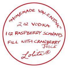 Lolita® Homemade Valentine Recipe