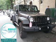 Cliente Magic Clean Car, El #Jeep brilla espectacular #Lavarsinagua -  La Evolución en el Lavado