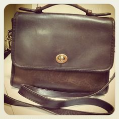 Vintage Coach Bag.  $35  #wellspring  -purchased-