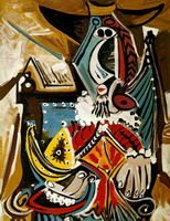 Pablo Picasso - Musketeer