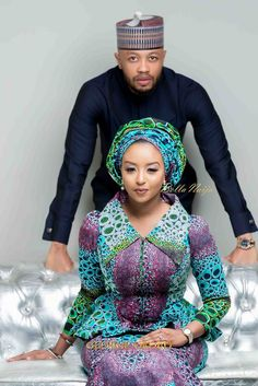 Rufai and Fatima Caught the Love Bug! See their Love Story & Pre-Wedding Photos African Wear Dresses, African Inspired Fashion, Latest African Fashion Dresses, African Print Fashion, Africa Fashion, African Attire, Ghana Dresses, Ethnic Fashion, Women's Fashion