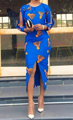 African Print Dresses, African Wear, African Attire, African Fashion Dresses, African Women, African Dress, Nigerian Fashion, African Clothes, Dress Fashion