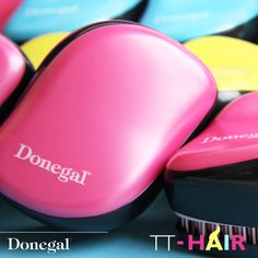 Szczotka do włosów TT-Hair by Donegal! Perfekcyjny brushing - idealnie gładkie włosy! www.donegal.com.pl