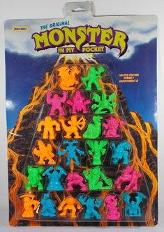 Monster In My Pocket -- Series 2 -- Complete Set X 24 Mini Figures 15 Monster S, My Pocket, Mythical Creatures, Nerd Stuff, Mini, Ebay, Art, Art Background, Mythological Creatures
