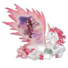 The Unicorn Of Peace By Nene Thomas Figurine With Fairy Art