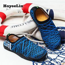 43bf742ab85 Water Shoes Men s Outdoor Beach Aqua Shoes Slip On Swimming Surfing Sports  Flats Aqua Shoes
