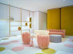 REDValentino by India Mahdavi | Shop interiors                                                                                                                                                                                 More