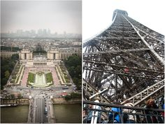 Beat the crowds at the Eiffel Tower by getting there early and reserving tickets in advance online. Take the stairs to the 2nd deck or ride the elevator to the top, the views from both points are spectacular.