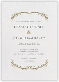 Paperless Post - PAPER - Wedding - Wedding Invitations