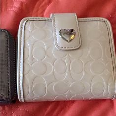 Coach white wallet Coach white wallet. Ask questions or any info :) Coach Bags Wallets