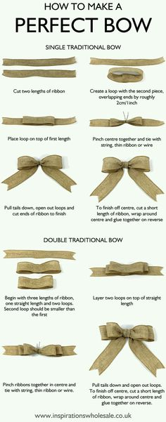 MASNI készítésének lépései How to make the perfect bow DIY tutorialMy life is a lie😭 and I thought people who did perfect bows were good at tying bows!How to make a Perfect Bow for gift wrapping, home décor and crafts ideas – both single tradi Christmas Gift Wrapping, Christmas Bows, Wedding Gift Wrapping, Diy Gift Wrapping Bows, How To Tie A Christmas Bow, Christmas Projects, Wedding Card, Diy Gifts For Friends Christmas, Diy Gift Wrapping Tutorial