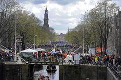4/27/2016. Koningsdag 2016 in Amsterdam. #amsterdam #2016 #Koningsdag