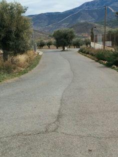Camino en Laujar