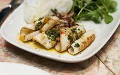Calamari grigliati alla maniera calabrese - Prova una semplice ricetta, i…