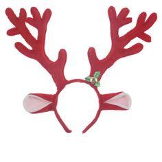 2017 New Women Girls Xmas Bell Reindeer Antlers Headband Deer Elk Horn Headwear Cosplay Props Halloween Party Favors Gift #Affiliate