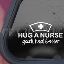Would you use these decals to show your nursing pride? #Decals #Stickers #Nurses