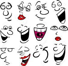 Resultado de imagen para caras caricaturas