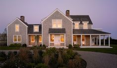 Photos of fine Cape Cod Homes - House and Guest House at Surfside - Cape Cod Architects