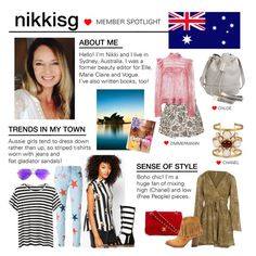 """Member Spotlight: Nikkisg"" by polyvore ❤ liked on Polyvore featuring Monki, STELLA McCARTNEY, Proenza Schouler, Ray-Ban, Free People, Chanel, Frye, Zimmermann, Dune and See by Chloé"