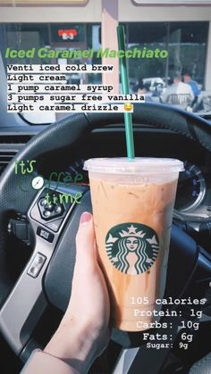 Here are 20 of the much healthier Starbucks drinks. They will provide you all of the tastes for far fewer calories than a lot of the other products Healthy Starbucks Drinks, Starbucks Secret Menu Drinks, Yummy Drinks, Healthy Drinks, Low Calorie Drinks, Starbucks Drinks Coffee, Sugar Free Starbucks Drinks, Starbucks Menu Calories, Iced Caramel Latte Starbucks