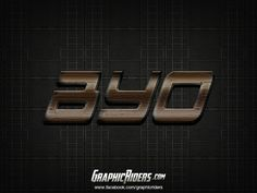 Action style – Byo (free photoshop layer style, text effect) #graphicriders