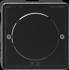 Gira AFTAKDOOS 3X IP31 Zwart S-Color
