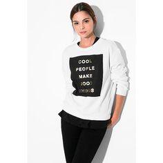 Cool people make cool things! Daar zijn we het mee eens ♥ Koop deze trui van Mango hier ♥