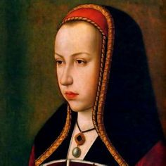 Joanna of Castile and Leon. She is also called Joanna the Mad .went into a depression after her husband, Philip I of Castile died. Joanna Of Castile, Adele, Isabel I, Maximilian I, Holy Roman Empire, Old Paintings, Portrait Paintings, European History, Royals