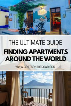 The Ultimate Guide to Finding Apartments Around the World - Goats On The Road Travel Advice, Travel Guides, Travel Tips, Travel Hacks, Travel Essentials, Travel Around The World, Around The Worlds, Wanderlust, Work Abroad