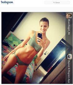Cristina Chiabotto in bikini Olivia
