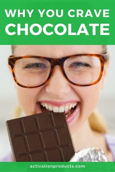 Chocolate cravings could mean you're deficient in magnesium!