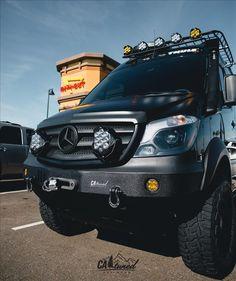 Mercedes Sprinter Camper, Benz Sprinter, Sprinter Van Conversion, Camper Van Conversion Diy, Ambulance, Diy Van Camper, Off Road Camper, Off Road Rv, Truck Flatbeds