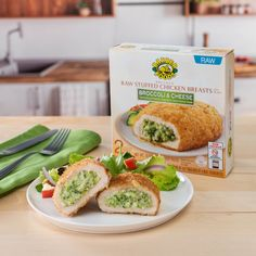 For over 40 years, we've been making delicious and flavorful stuffed chicken breasts to impress your guests. The original stuffed chicken breast by Barber Foods. Find at a store near you! Barber Foods, Stuffed Chicken, Broccoli And Cheese, Chicken Breasts, 40 Years, Entrees, Make It Simple, Side Dishes, Chicken Recipes