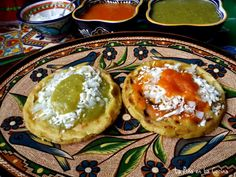 Picaditas (Corn Masa Cakes) – Famous Last Words Mexican Food Recipes, Vegetarian Recipes, Cooking Recipes, Dinner Recipes, Pozole, Tamales, Starters For Dinner, Bomb Sauce, Beef Cheeks