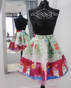 FUNNY SKIRT  by domka